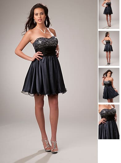 Abendkleid in Crinkle-Optik Festlich ID1292