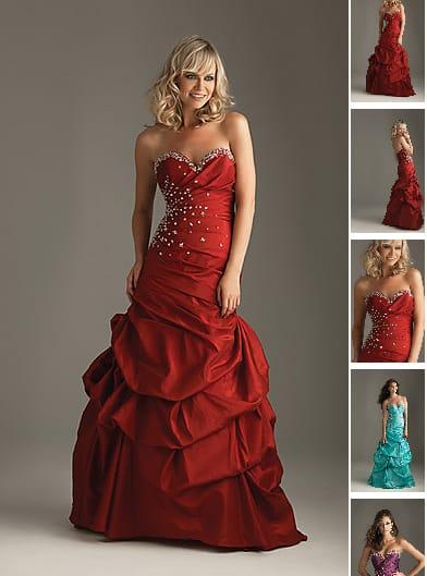 Rotes abendkleid kaufen